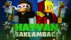 LEŞ GİBİ SIÇAN TAVUKLAR! - Minecraft - SAKLAMBAÇ! (Farm Hunt) w/Ahmet Aga