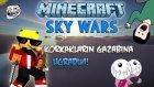 Minecraft - GÖKYÜZÜ SAVAŞLARI! - KORKAKLARIN GAZABI! (Sky Wars)
