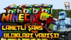 Minecraft: LANETLİ ŞANS BLOKLARI YARIŞI! - Lucky Block Modu (Modlu Minigames)