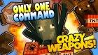 Minecraft - MODSUZ SİLAH ve BOMBA YAPIMI! (1.8.1)