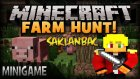 Minecraft: SAKLAMBAÇ! - DOMUZ SÜRÜSÜNE KATILDIM! (Farm Hunt)