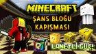 Minecraft : ŞANS BLOĞU KAPIŞMASI! - LANETLİ GÜÇ! (Lucky Islands,Şanslı Adalar)