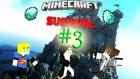 Minecraft Survival | Bölüm 3:Hadi Eller Havaya Donlar Aşağıya