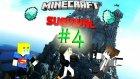 Minecraft Survival | Bölüm 4:This is Sparta!