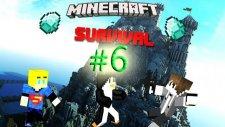 Minecraft Survival   Bölüm 6:Bu Nasıl Bir Ev Amk ! :D