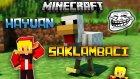 Minecraft | TROLL TAVUK vs AVCI | Hayvan Saklambacı (Farm Hunt)