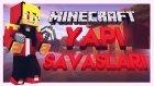Minecraft - YAPI SAVAŞLARI! - KAR TOPU & ÇAN - Bölüm 2
