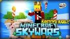 Türkçe Minecraft | KARTOPU KRALI OLDUM! | Sky Wars! (Gökyüzü Savaşları)