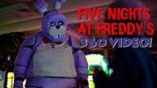 Gerçek Hayatta 360 Derece Olarak 'Five Night's At Freddy's' Oyunu Oynamak