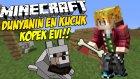 Minecraft DÜNYANIN EN KÜÇÜK KÖPEK EVİ NASIL YAPILIR ?