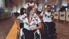 Madalyalı Engelli Milli Takım oyuncuları İstanbul'a döndü