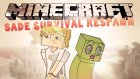 Minecraft: Sade Survival ReSpawn - Bölüm 41 - NETHER! w/Gizem