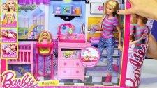 Barbie Bebek Bakıcısı - Bebek Bakıcısı Barbie Oyuncak Seti Tanıtımı - Evcilik TV
