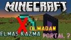 ELMAS KAZMASIZ NETHER PORTALI YAPTIK! - Multiplayer Survival - Bölüm 4