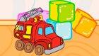 Çizgi film - Oyuncaklar - İtfaiye arabası ve ambulans