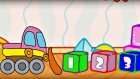 Çizgi film - Oyuncaklar - Kamyon ve buldozer
