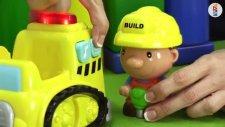 Çocuk filmi - Ekskavatör inşaatta çalışıyor - Türkçe izle