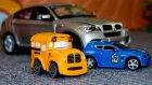 Çocuk filmi - Speedy ve Bussy araba sergisinde - BMW
