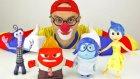 Çocuklar için eğlenceli film - Palyaço Dima - Disney oyuncakları