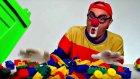Çocuklar için eğlenceli film - Palyaço Dima - Lego taşları - Kamyon