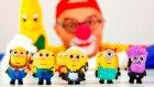 Çocuklar için eğlenceli film - Palyaço Dima - Oyuncak Minyonlar