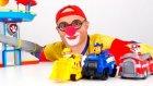 Çocuklar için eğlenceli film - Palyaço Dima ve kurtarma ekibi