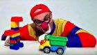 Çocuklar için eğlenceli film - Palyaço Dima ve Lego taşları