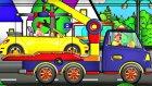 Çocuklar için eğlenceli film - Yetiş Palyaço Dima!!! Maria'nın arabası çalışmıyor