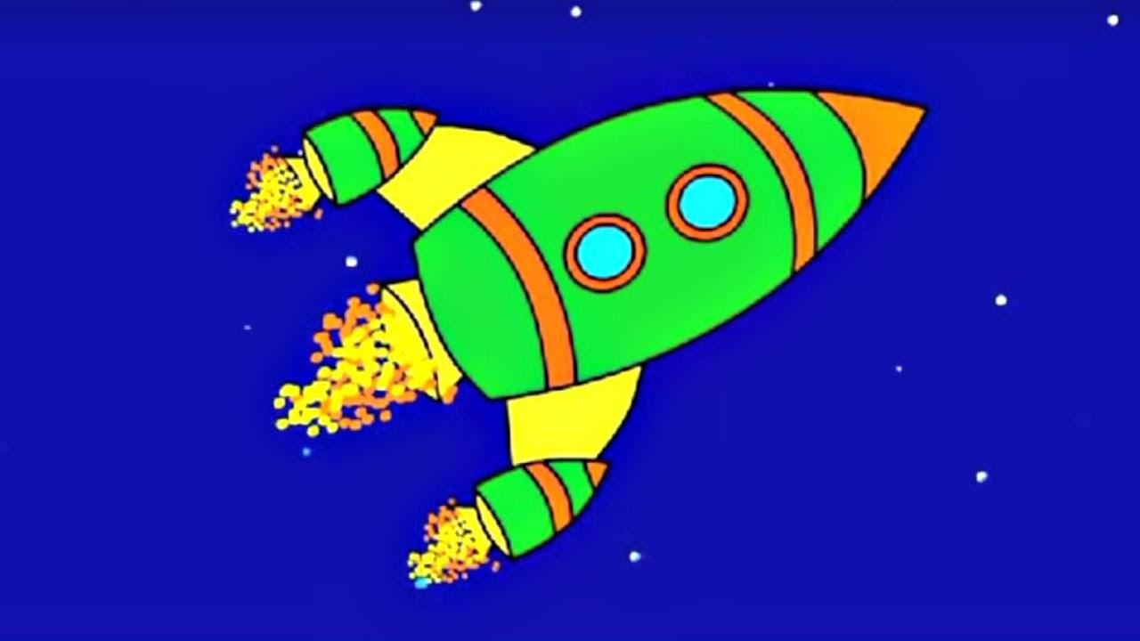 Eğitici çizgi Film Boyama Kitabı Roket Ve Balon Izlesenecom