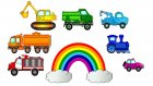 Eğitici çizgi film - Renkler ve arabalar - Okul öncesi eğitim