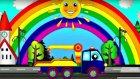 Eğitici çizgi film - Sihirli gök kuşağı - Renkler - Çekici