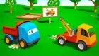 Meraklı kamyon Leo ve çekici - eğitici ve eğlenceli çizgi film