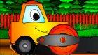 Neşeli Şekiller - Asfalt Silindiri - Eğitici Çizgi Film