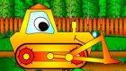 Neşeli Şekiller  - Buldozer - Eğitici Çizgi Film