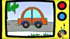 Resimler çizelim - Araba - Çocuklar için eğitici çizgi film