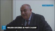 Tuğrul Türkeş: Onların Sayesinde AK Parti'li Oldum