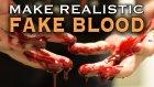 60 Saniyede Nasıl Gerçek Görünümlü Sahte Kan Yapılır?