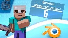 Blender Minecraft Dersleri #6 - Rige Obje ekleme ve Rigle Objeyi aynı anda hareket ettirme