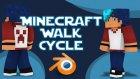 Blender - Minecraft Yürüme Animasyonu Nasıl Yapılır? |HG Animation|