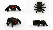 How to make Minecraft Spider Walk Cycle Animation in Blender |HG Animation|