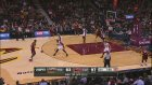 LeBron James and Dwyane Wade Duel in Cleveland