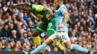 Manchester City 2-1 Norwich - Maç Özeti (31.10.2015)