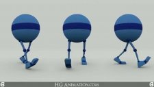 Simple Walk Cycle Test Animation Characters Blender3D |HG Animation|