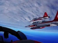 Türk Yıldızlarından Muhteşem Görüntüler: Hiç Bu Gözle Baktınız Mı?