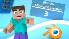 Blender Minecraft Dersleri #3 - Video ve Fotoğraf formatında Render Almak (HG Animation)