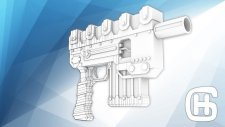 Sci-fi Weapons Speed Modeling | Download |