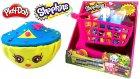 Shopkins Oyun Hamuru Dev Cupcake Oyuncak Market Arabası Açma