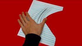 Kırışmış Kağıt Çizimi | 3 Boyutlu Çizim