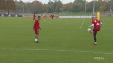 Rafinha ve Robben'den futbol şov!