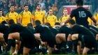 Maç Öncesi Rakibe Gözdağı Olarak Haka Dansı Yapan Rugby Takımı